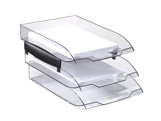 Cep Brievenbak CEP Ice transparant zwart