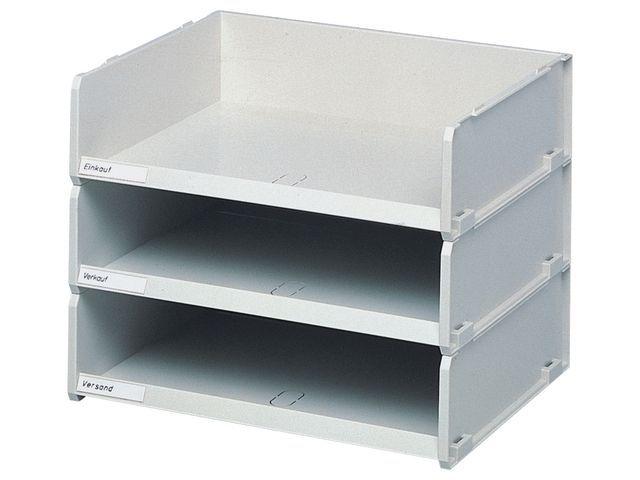 multiform Sorteerbak Multiform 10 x38 x30cm grijs