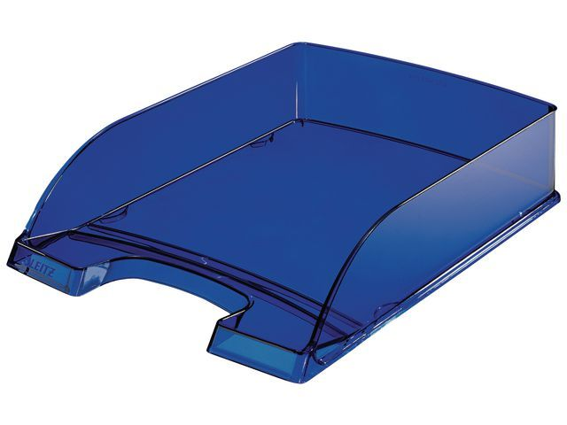 Leitz Leitz Brievenbak Plus 5226. blauw transparant