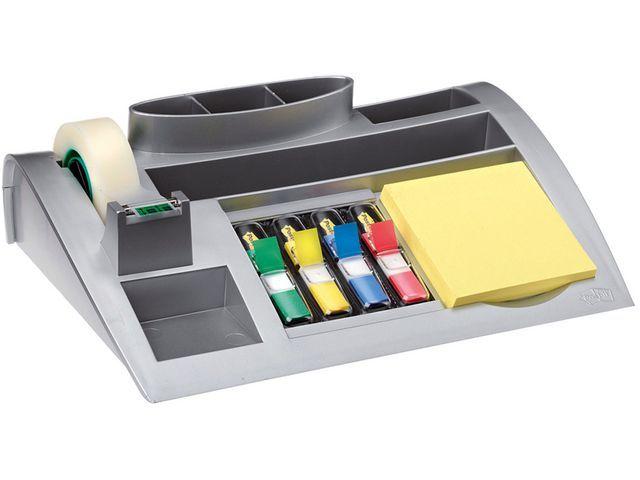 Post-it® Bureauorganizer Post-it C50 zilver