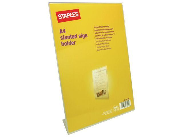 Staples Folderstandaard SPLS A4 enkel