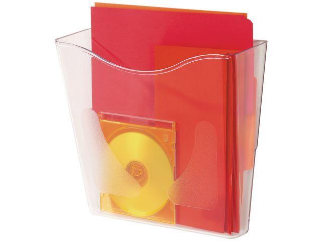 Staples Folderrek SPLS A4 staand transparant