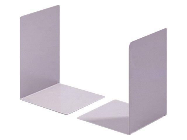 Boekensteun grijs (set 2 stuks)