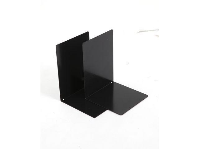 Boekensteun metaal zwart/2