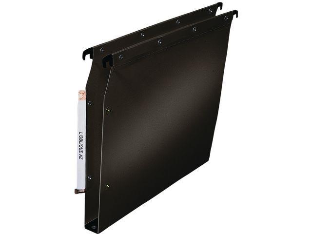 L'oblique Hangmap lat. ELBA A4 PP 30mm zwart/ds 10