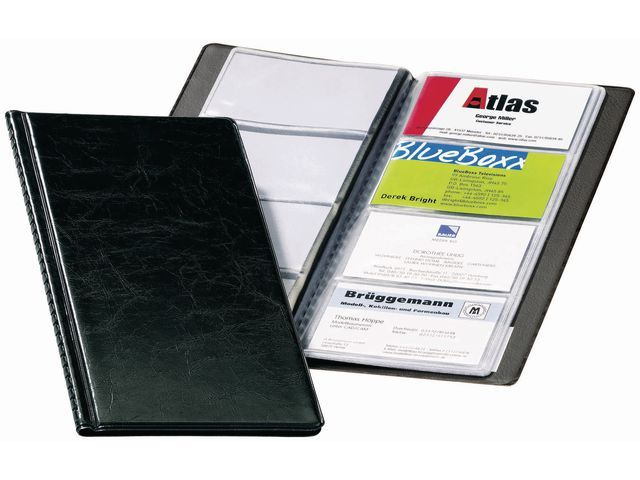 Durable Visitekaartalbum Visifix 2380 zwart