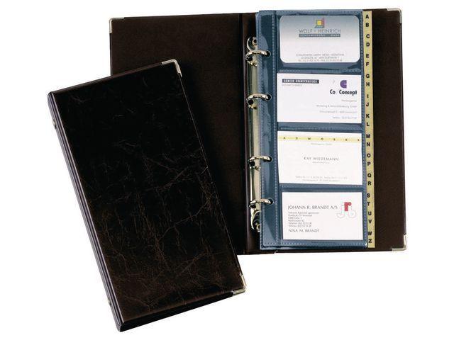 Durable Visitekaartringalbum Visifix 2383 zwart