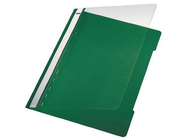Leitz Hechtmap Leitz 4191 A4 PVC groen/doos 25