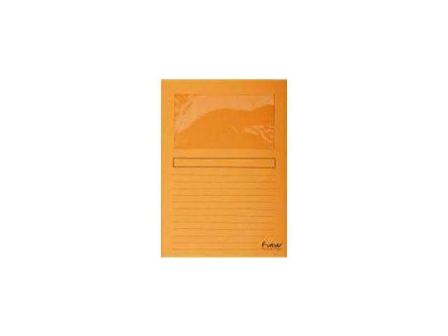 Exacompta Venstermap Forever A4 120g oranje/pk 100
