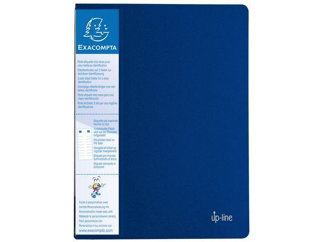 Exacompta Showalbum Exacompta A4 40 tassen blauw