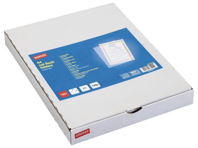 Staples Insteekmap SPLS A4 L-model PP0.12 tr/100