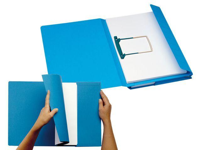 Jalema Hechtmap Secolor Combi folio blauw/pk 40