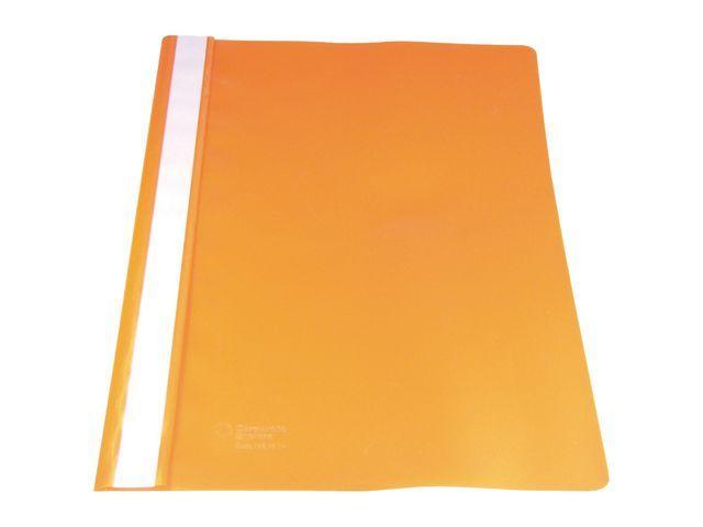 Staples Hechtmap SPLS A4 PP oranje/pk 10