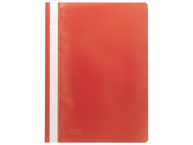 Staples Hechtmap SPLS A4 rood/pak 10