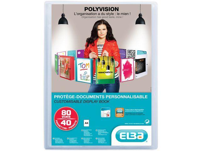 Elba Showalbum ELBA Polyvision A4 40tassen tr