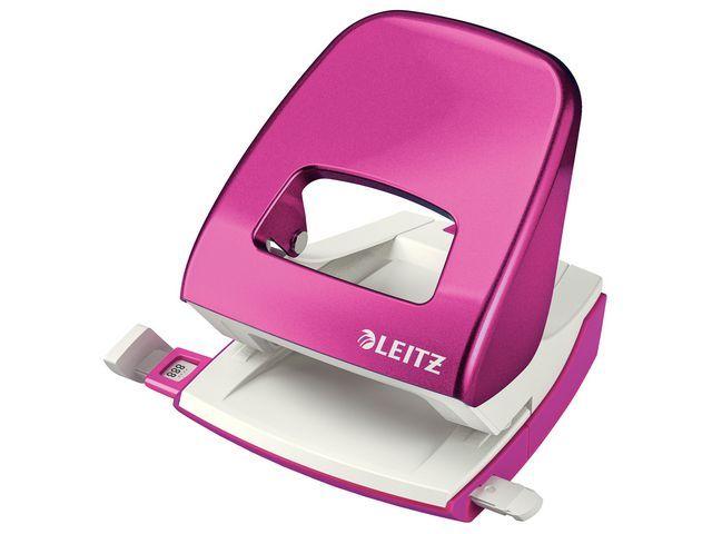 Leitz Perforator Leitz WOW 5008 roze metallic