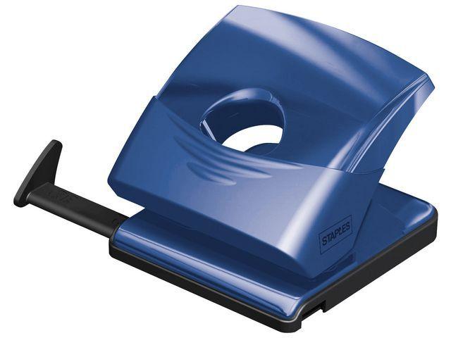 Staples Perforator Staples 80mm blauw 25vel