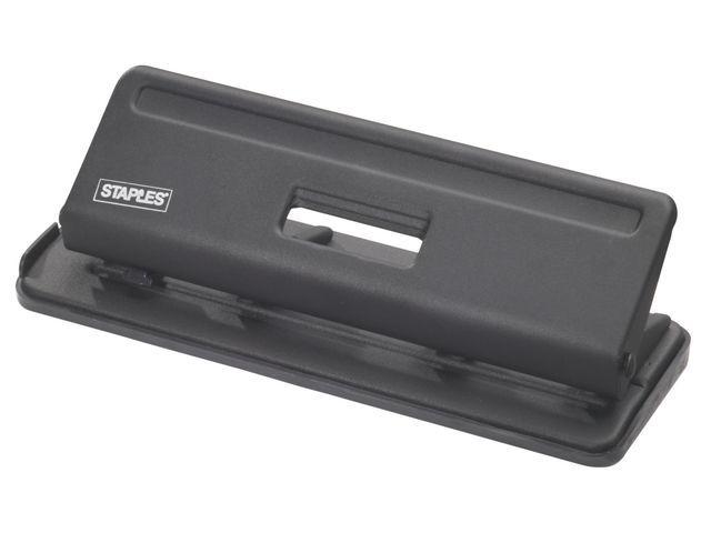 Staples Perforator SPLS 4-gaats 25 vel zwart