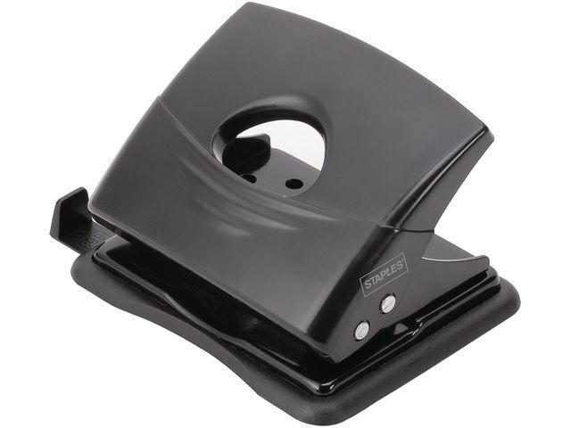Staples Perforator SPLS licht werk 18 vel zwart