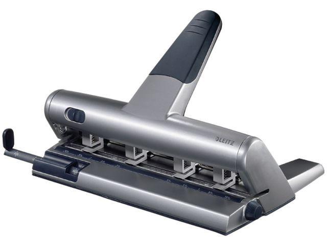 Leitz Perforator Leitz 5114 zilver