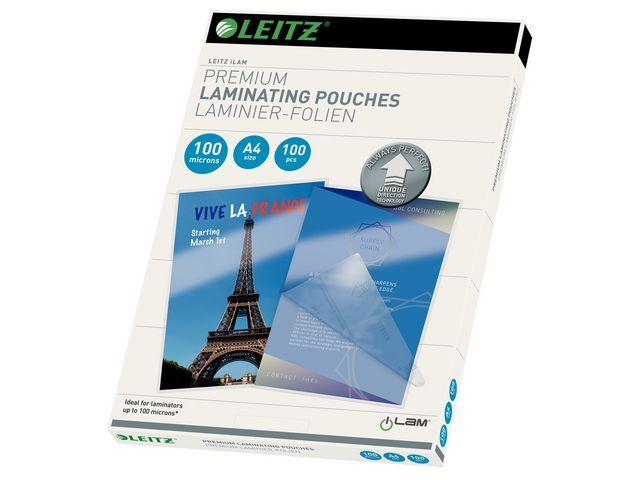 Leitz Lamineerhoes Leitz A4 UDT 100 mic/pk 100
