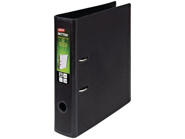 Staples Ordner Better Binder A4-maxi 75mm zwart
