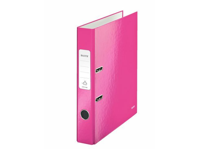 Leitz Ordner Leitz WOW 50mm A4 karton roze
