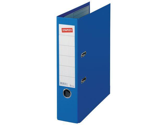 Staples Ordner SPLS Premium 80mm A4 PP blauw