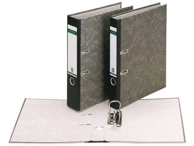 Leitz Ordner Leitz 1082 80mm folio gewolkt zw
