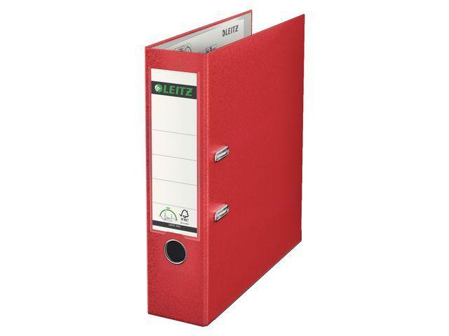 Leitz Ordner Leitz 1010 80mm A4 PP rood