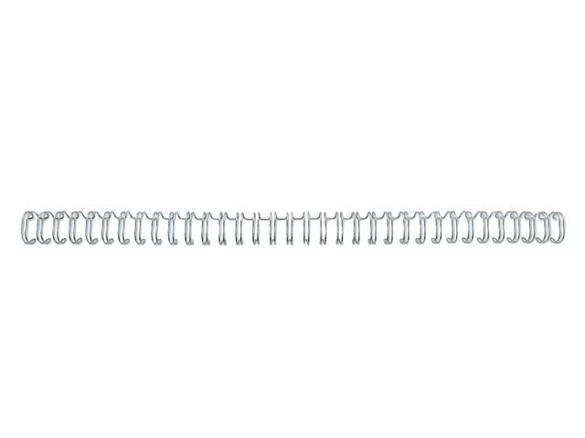 GBC Draadrug GBC 12.5mm 34-rings zilv/ds 100