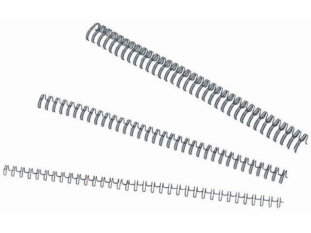 Burosprinter Draadrug 14mm 3:1 34r zwart/ds 100