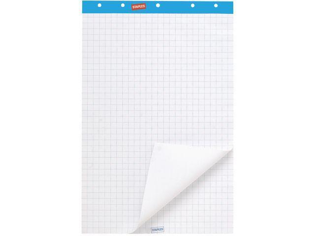 Staples Flipoverpapier SPLS 65x100 recy/ds2x50v