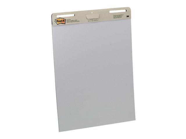 Post-it® Flipoverpapier Post-it blanco 30v/ds 2bl
