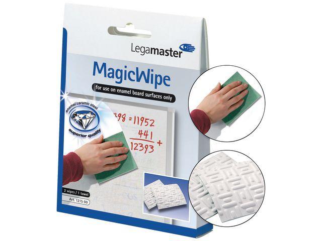 Legamaster Reinigingsdoek Lega MagicWipe/set 3