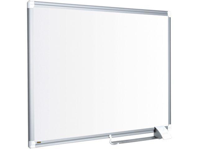 Bi-Office Whiteboard emaille 90x60 rand aluminium