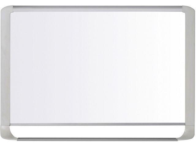 Bi-Office Whiteboard magnetic 120x90 rand grijs