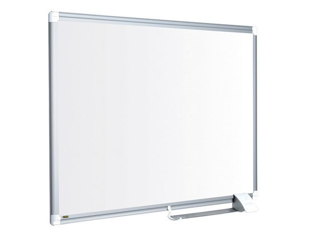Bi-Office Whiteboard staal 120x90 rand aluminium