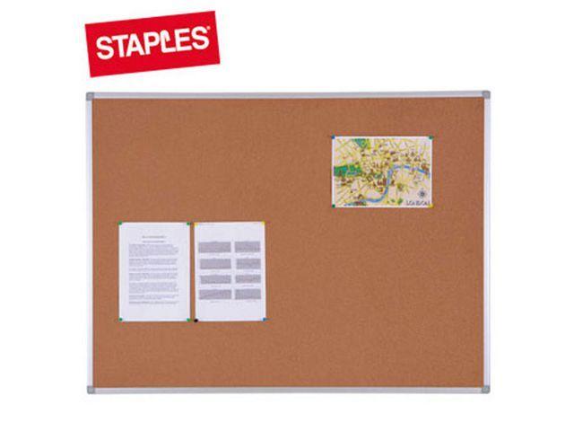 Staples Staples Prikbord kurk 120 x 90 cm