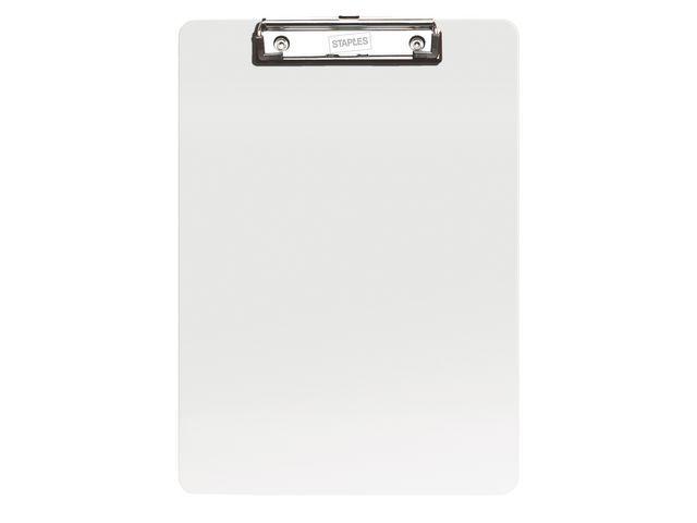 Staples Klembord SPLS PS A4/folio transparant