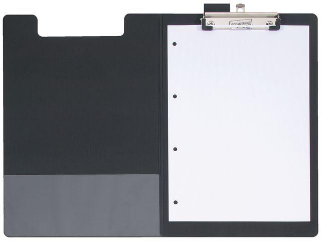 Staples Klembord SPLS A4/folio foldover zwart