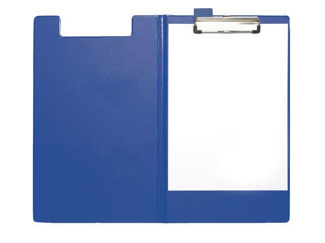 Staples Klembord SPLS A4/folio foldover blauw