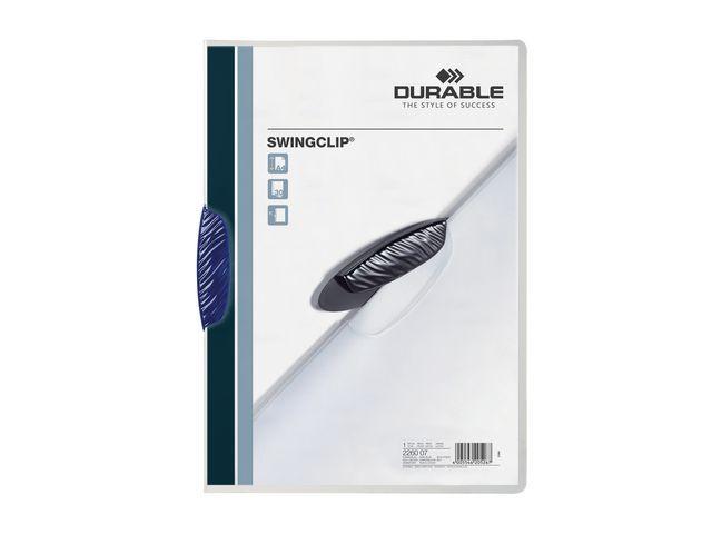 Durable Klemmap Durable swingclip 3mm d'bl/ds 25