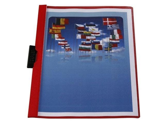 Staples Klemmap SPLS A4 6mm rood/pak 5