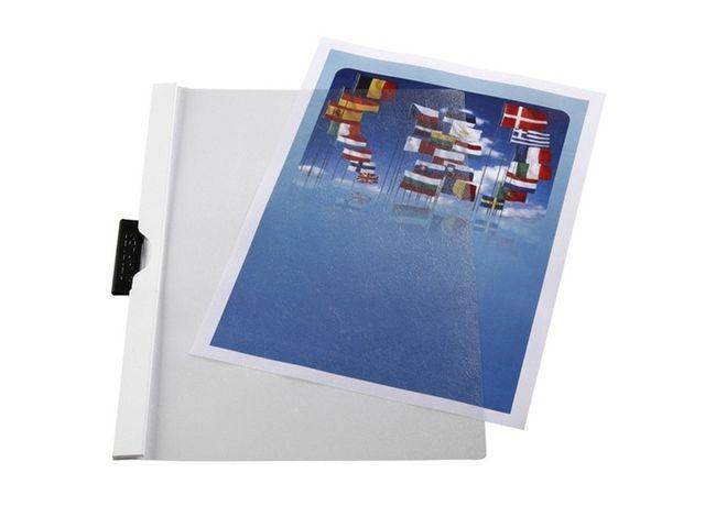 Staples Klemmap SPLS A4 6mm wit/pak 5