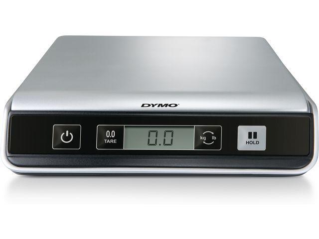 Dymo Dymo USB postweegschalen Cap. 10 kg. Afmetingen platform 20 x 20 cm. Zilver
