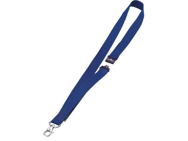 Durable Textielkoord Durable 8137 B20mm bl/ds 10