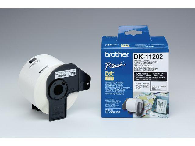 P-Touch Etiket P-Touch 100x62mm verzend/rol 300