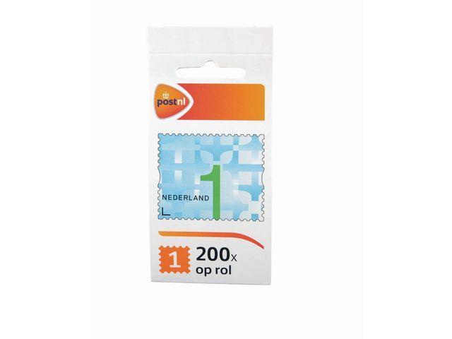 PostNL Postzegel NL waarde 1 zelfkl/rl200