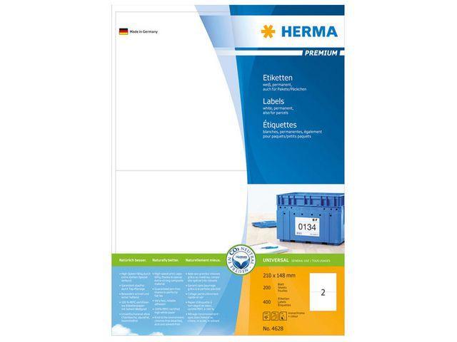 Herma Etiket ILC 210x148 prem wit/pk 400